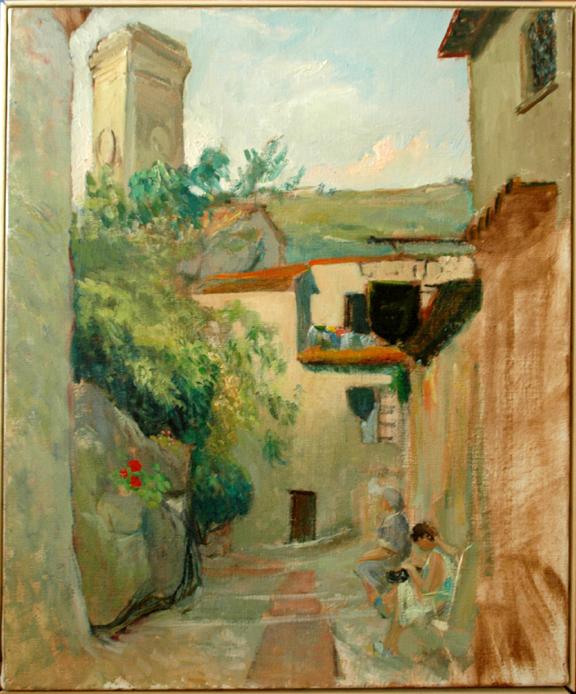 Street in Eze
