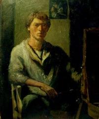 Self portrait, 1982, France
