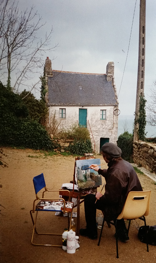 painting in brittany