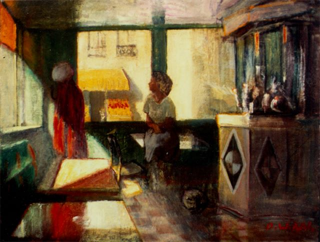 Sunlight, oil on canvas, 1986