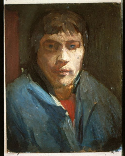 Pierre, oil on board, 1982