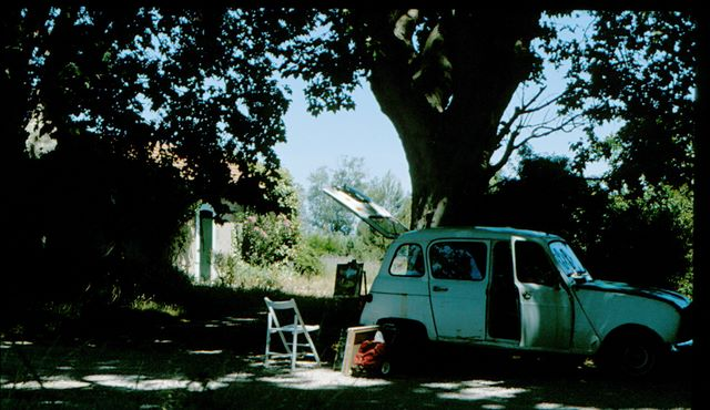 Painting at L'ile sur Sorgue, France, 1982