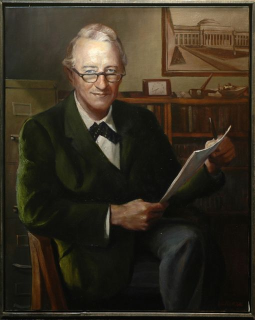 Frank Conant (Commissioned portrait by the MIT Federal Credit Union of their founder)