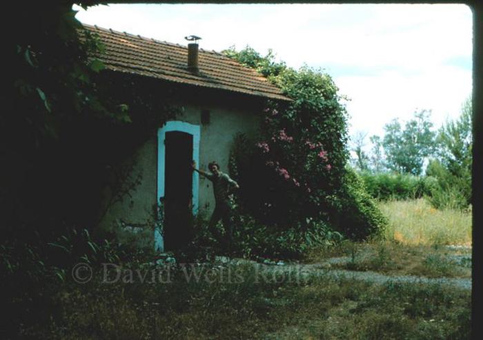 Painting at L'ile sur Sorgue, France,