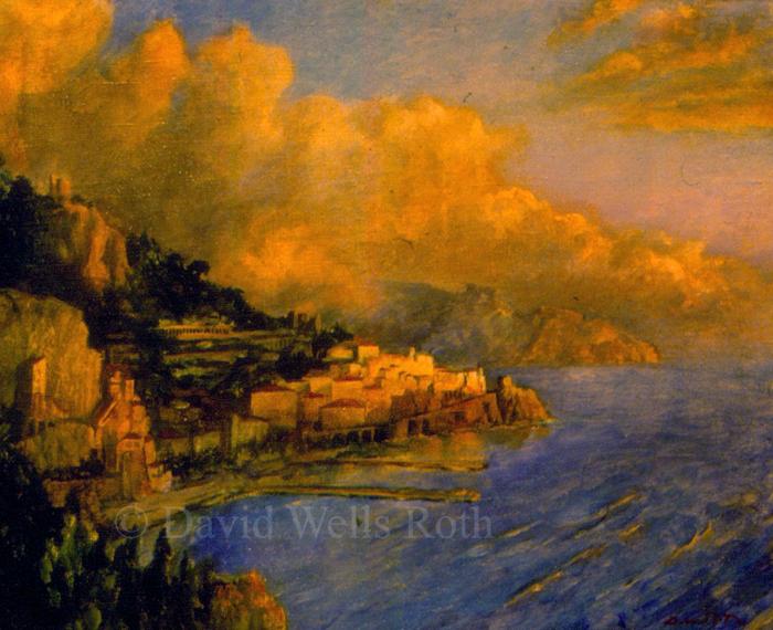 Amalfi Coast, 1986