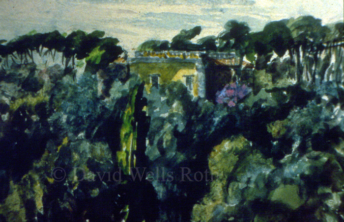 View near Rome, 1984
