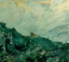 Ruin in Tuscany,1984