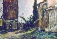 Ruins near Rome