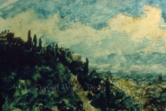 View near Florence, 1984