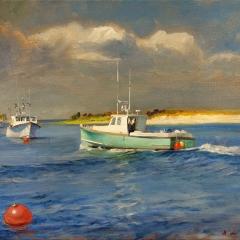 Distant Thunder, Fishing Boats at Chatham