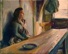 Girl at Table