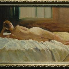 Recklining Nude