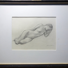 Reclinging figure
