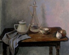Still life with decanter