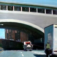 Roadwork at the G W B