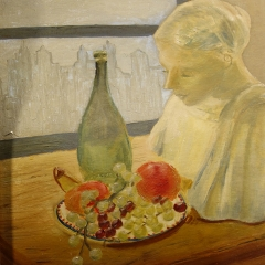 O15 - Still life with bust