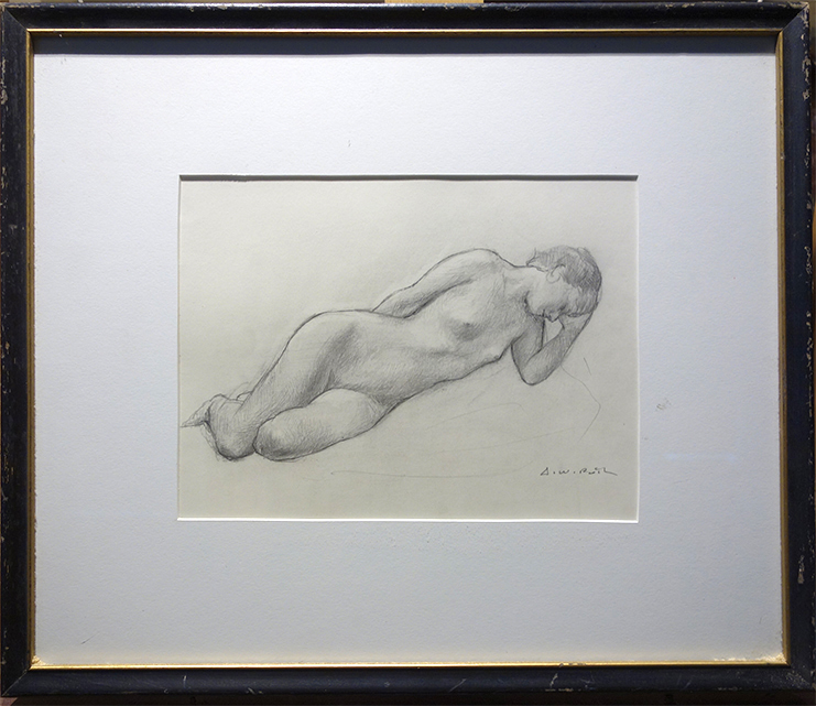 Reclinging figure s